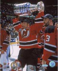 """Martin Brodeur New Jersey Devils 2000 Stanley Cup Champions Autographed 8"""" x 10"""" Vertical Photograph"""
