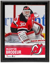 "Martin Brodeur New Jersey Devils Sublimated 10"" x 13"" Plaque - Mounted Memories"