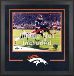 Denver Broncos Deluxe 16'' x 20'' Horizontal Photograph Frame with Team Logo - Mounted Memories