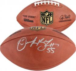 Derrick Brooks Autographed Football