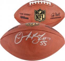 Derrick Brooks Autographed Football