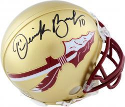 Derrick Brooks Florida State Seminoles Autographed Riddell Mini Helmet