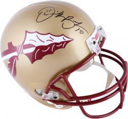 Derrick Brooks Florida State Seminoles Autographed Riddell Replica Helmet