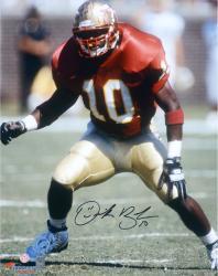 "Derrick Brooks Florida State Seminoles Autographed 16"" x 20"" Stance Photograph"