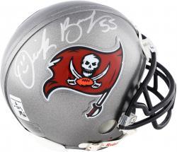 Derrick Brooks Tampa Bay Buccaneers Autographed Riddell Mini Helmet