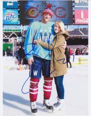 BROOKS LAICH #21 Signed WASHINGTON CAPITALS Hockey 8x10 photo w/ Julianne Hough