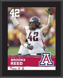 "Brooks Reed Arizona Wildcats Sublimated 10.5"" x 13"" Plaque"