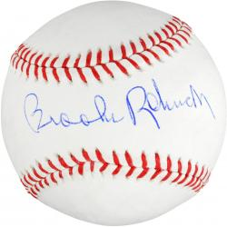 Brooks Robinson Autographed Baseball - Mounted Memories