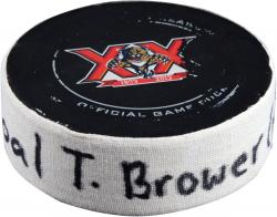 BROUWER, TROY (CAPITALS) GOAL PUCK (2/27/14) @ FLA - Mounted Memories