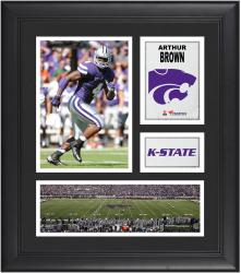 Arthur Brown Kansas State Wildcats Framed 15'' x 17'' Collage - Mounted Memories