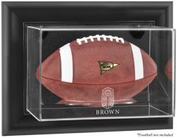 Brown Bears Black Framed Wall-Mountable Football Display Case - Mounted Memories