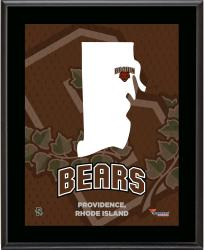 "Brown Bears Sublimated 10.5"" x 13"" State Plaque"