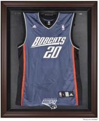 Charlotte Bobcats Brown Framed Jersey Display Case