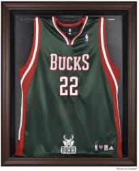Milwaukee Bucks Brown Framed Jersey Display Case