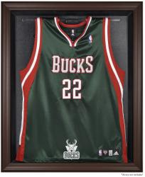 Milwaukee Bucks Brown Framed Jersey Display Case