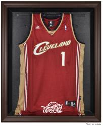 Cleveland Cavaliers Brown Framed Jersey Display Case - Mounted Memories