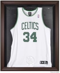 Boston Celtics Brown Framed Jersey Display Case - Mounted Memories