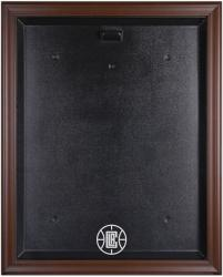 Los Angeles Clippers Brown Framed Jersey Display Case