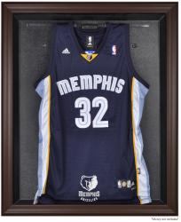 Memphis Grizzlies Brown Framed Jersey Display Case - Mounted Memories