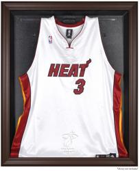 Miami Heat Brown Framed Jersey Display Case