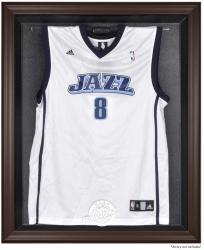 Utah Jazz Brown Framed Jersey Display Case - Mounted Memories
