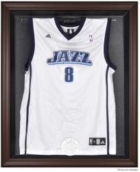 Utah Jazz Brown Framed Jersey Display Case