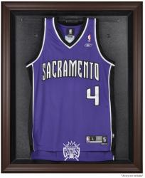 Sacramento Kings Brown Framed Jersey Display Case - Mounted Memories