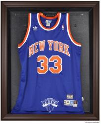 New York Knicks Brown Framed Jersey Display Case - Mounted Memories