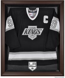 Los Angeles Kings Brown Framed Logo Jersey Display Case