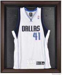 Dallas Mavericks Brown Framed Jersey Display Case - Mounted Memories
