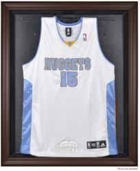 Denver Nuggets Brown Framed Jersey Display Case - Mounted Memories