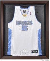 Denver Nuggets Brown Framed Jersey Display Case