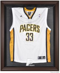 Indiana Pacers Brown Framed Jersey Display Case
