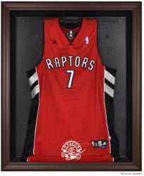 Toronto Raptors Brown Framed Jersey Display Case