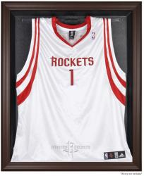Houston Rockets Brown Framed Jersey Display Case - Mounted Memories