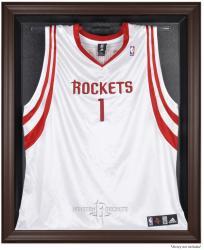 Houston Rockets Brown Framed Jersey Display Case