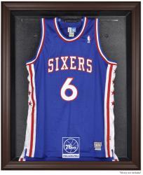 Philadelphia 76ers Brown Framed Jersey Display Case