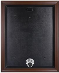 Seattle SuperSonics Brown Framed Logo Jersey Case - Mounted Memories