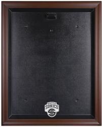 Seattle SuperSonics Brown Framed Logo Jersey Case