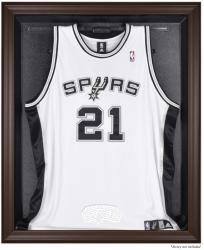 San Antonio Spurs Brown Framed Jersey Display Case