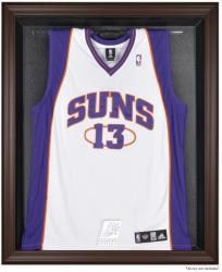 Phoenix Suns Brown Framed Jersey Display Case - Mounted Memories