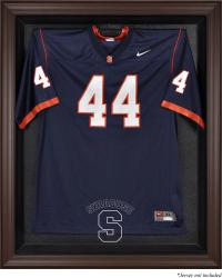 Syracuse Orange Brown Framed Logo Jersey Display Case