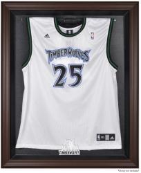 Minnesota Timberwolves Brown Framed Jersey Display Case