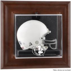 Florida State Seminoles Brown Framed Wall-Mountable Mini Helmet Display Case
