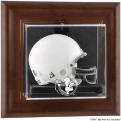Florida State Seminoles Brown Framed Wall-Mountable Mini Helmet Display Case