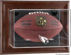 Arizona Cardinals Football Display Case - Brown - Mounted Memories
