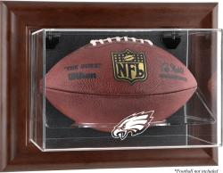 Philadelphia Eagles Brown Football Display Case - Mounted Memories