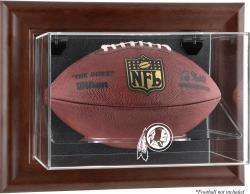 Washington Redskins Brown Football Display Case