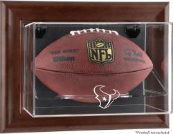 Houston Texans Brown Football Display Case - Mounted Memories