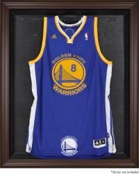 Golden State Warriors Brown Framed Jersey Display Case